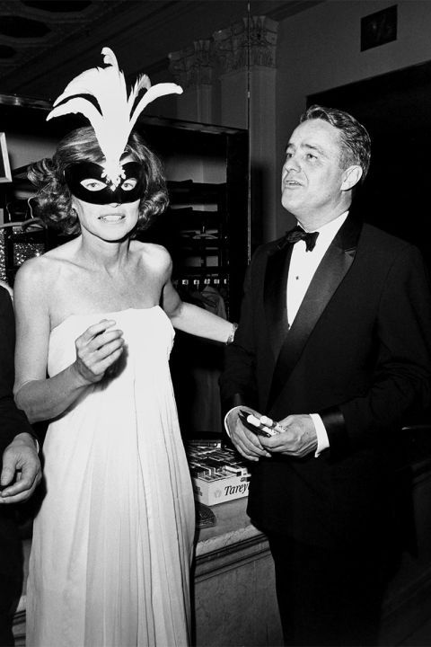 17 iconic vintage party photos to inspire your New Year's Eve outfit: Sargent Shriver and Eunice Kennedy Shriver