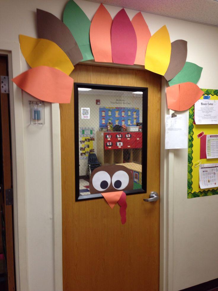 Classroom Ideas For November : November door decoration classroom ideas pinterest