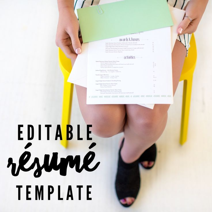 College Application Resume Template: Best 25+ College Resume Ideas On Pinterest