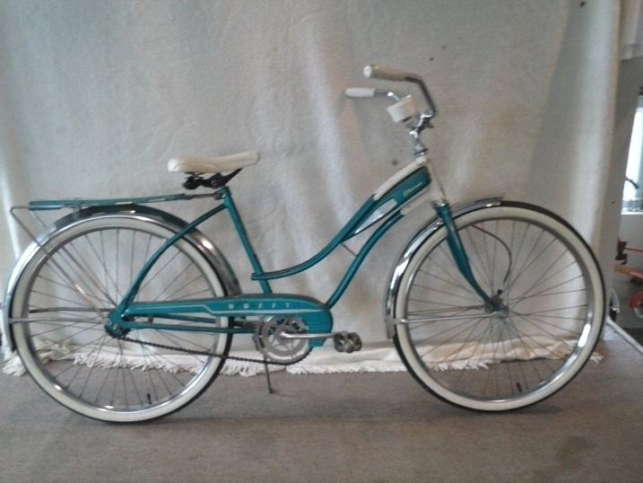 1964 girl's bicycle. Multi-speed--just pump faster or slower!