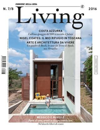 Living Living is the magazine for interior, design and lifestyle from the Corriere della Sera daily. A monthly magazine, a digital edition, and a website are at the heart of the first vertical distribution system in the home furnishing sector present in Italy and on the major social networks. Dedicated to new ways of experiencing household spaces, the monthly RCS magazine, edited by Francesca Taroni, starts with the home and then incorporates everything connected to it: food, art, fashion…
