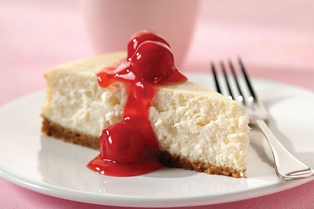 This easy-to-make cheesecake will be the hit of any dinner party. Made with both cream cheese and cottage cheese, it has a classic graham cracker crust.