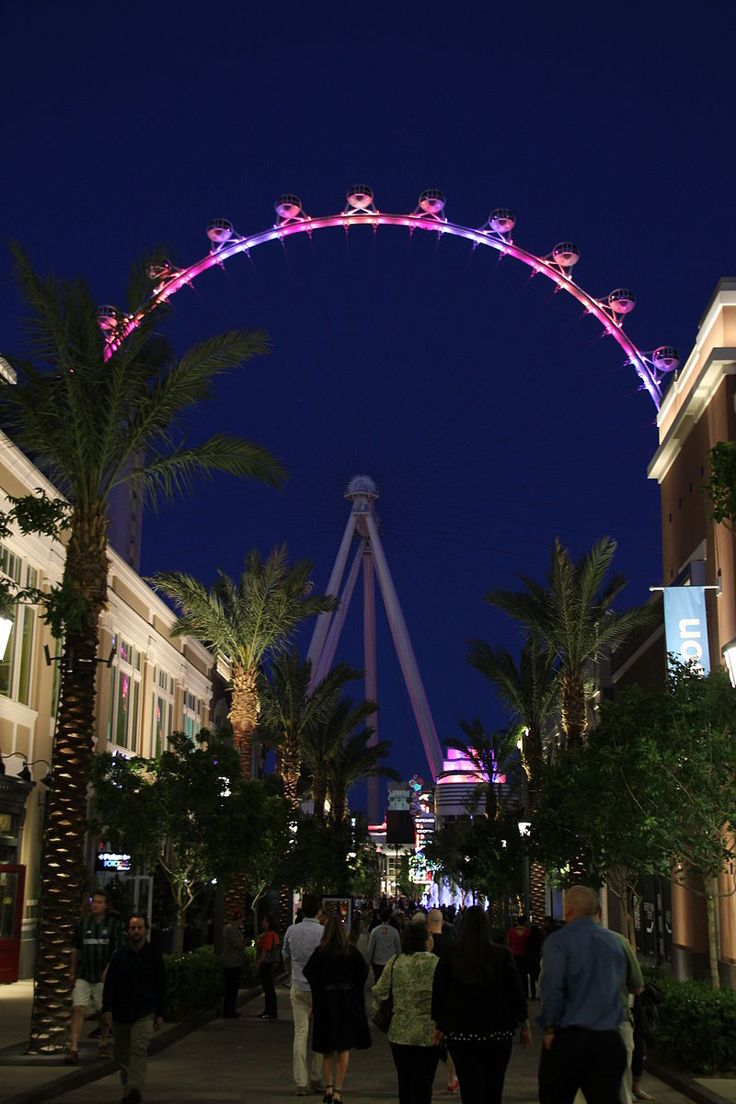 High Roller (Ferris wheel) opened to the public on March 31, 2014, and is…
