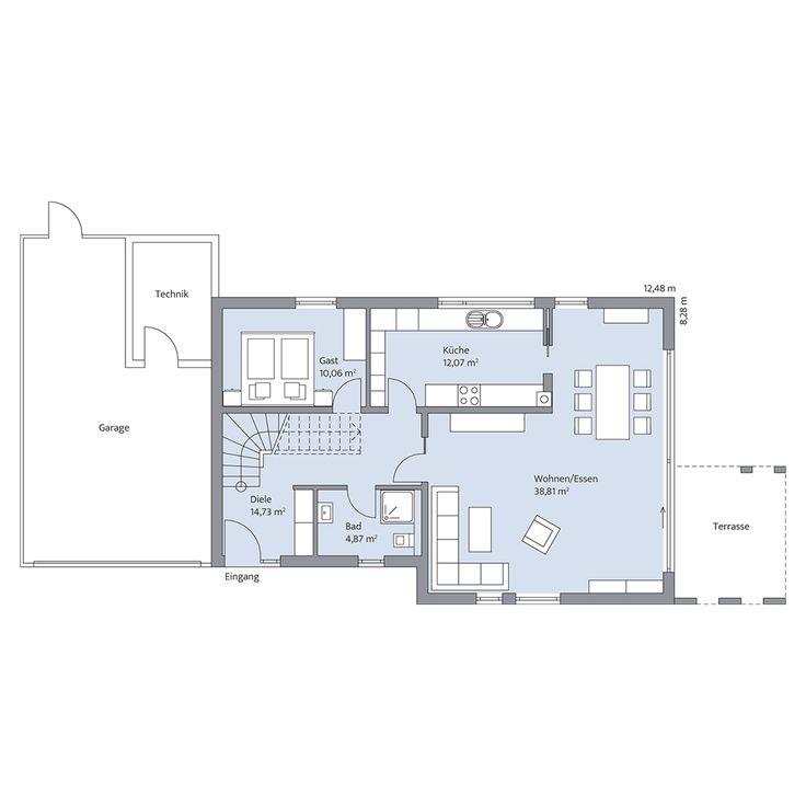 397 Besten Grundriss Einfamilienhaus Bilder Auf Pinterest