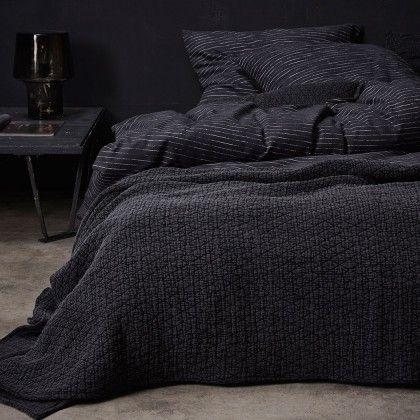 #beds #bedlinen Essenza Flanell Bettwäsche Iven anthrazit 135x200 cm + 80x80 cm: Essenza Flanell Bettwäsche Iven… #mattresses #pillows