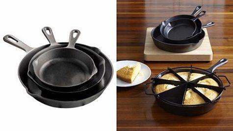 JC Penney: Cooks 3-Pc Cast Iron Skillet Set, Only $19.99! (Reg. $60.00)