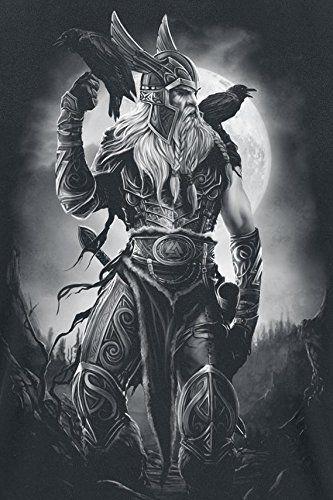 Toxic Angel Odin T-Shirt schwarz: Amazon.de: Bekleidung