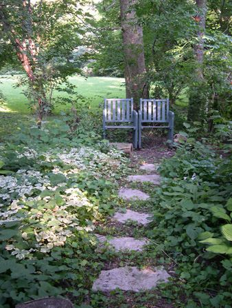 A great garden nook for 2.