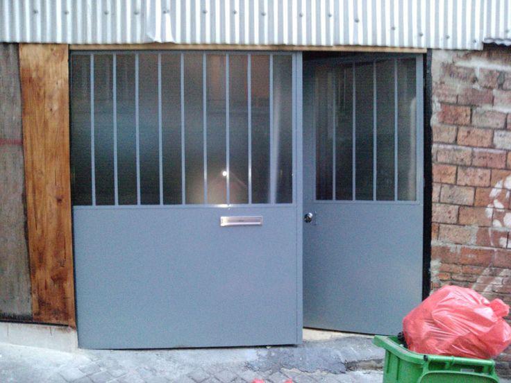Les 25 meilleures id es de la cat gorie porte garage sur - Quincaillerie pour porte de grange coulissante ...