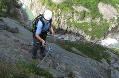 Klettersteig Diavolo bei der Teufelsbrücke - Andermatt (de) - Sommer