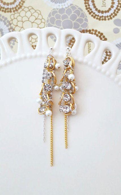 The 25+ best Bridal chandelier earrings ideas on Pinterest ...