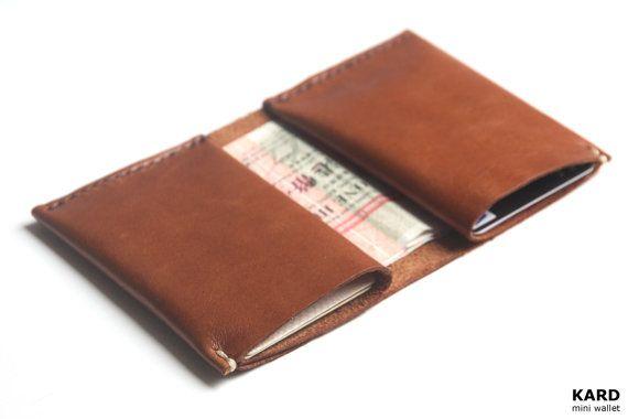 KARD mini wallet (Chocolate brown)