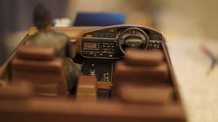 Rc Toyota Land Cruiser 80 interior dashboard