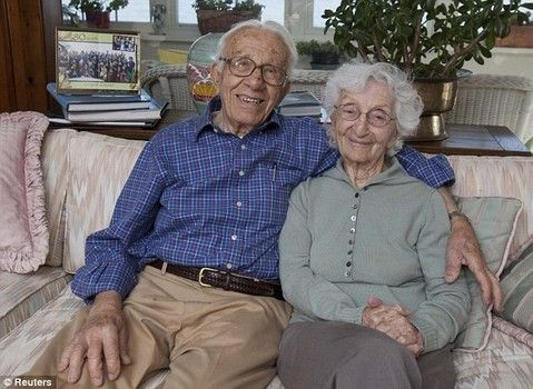 Couple married for 81 years  http://www.examiner.com/article/america-s-longest-married-couple-prepare-for-81st-wedding-anniversary