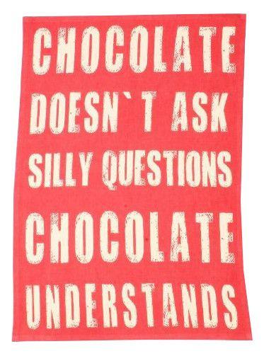 Ścierka Chocolate LIVEBEAUTIFULLY