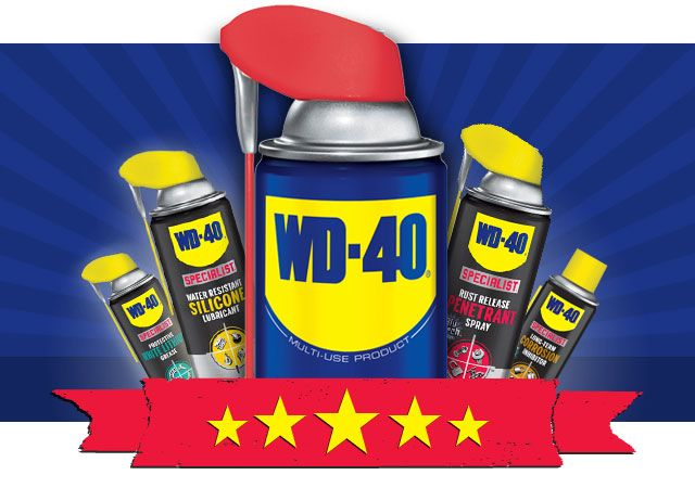 "WD-40 Brand Uses - Search For a WD-40 Uses and Tips! There is a link for a 2000 uses PDF!! One use...it makes squirrels slide off of bird feeder poles! Click link for so many more!! It goes with out saying, but don't leave WD-40 out of your survival stash. The WD-40 survival guide aka ""toolkit in a can""."