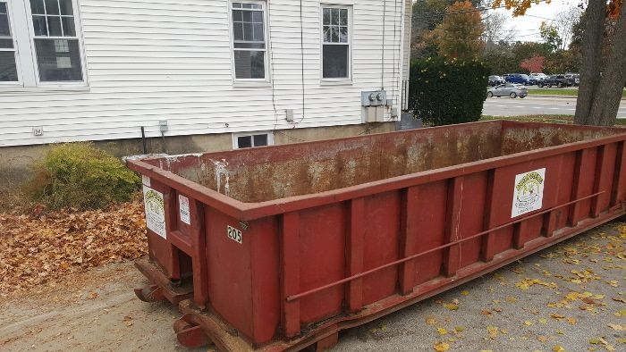 20 Yard Dumpster Rental With 3 Ton Limit For An Attic And Basement Clean Out In Concord Nh Concord Nh Dumpster Dumpster Rental Yard