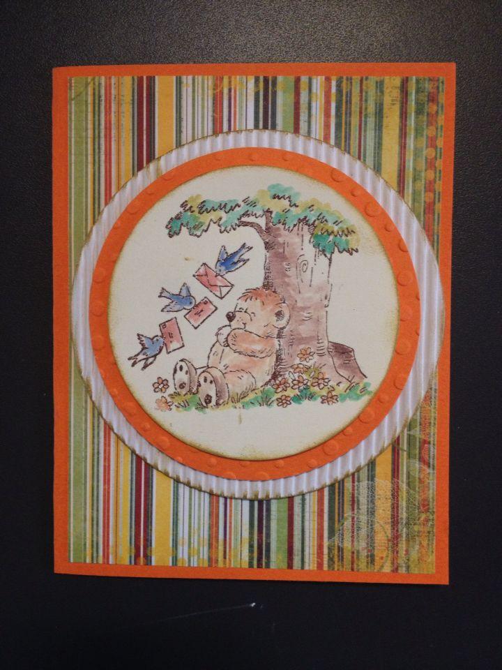 Card con orsetto
