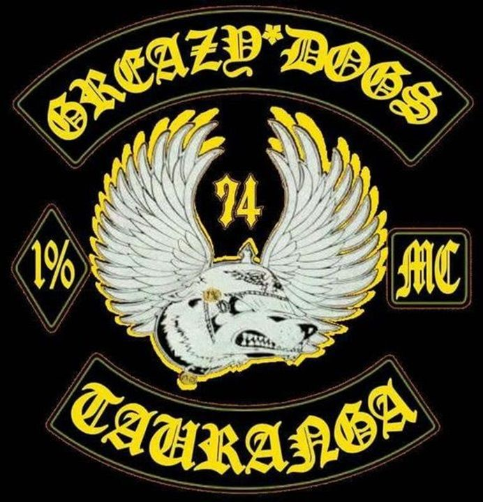 Greazy Dogs MC | NZ MC Colours & Back Patches | Motorcycle