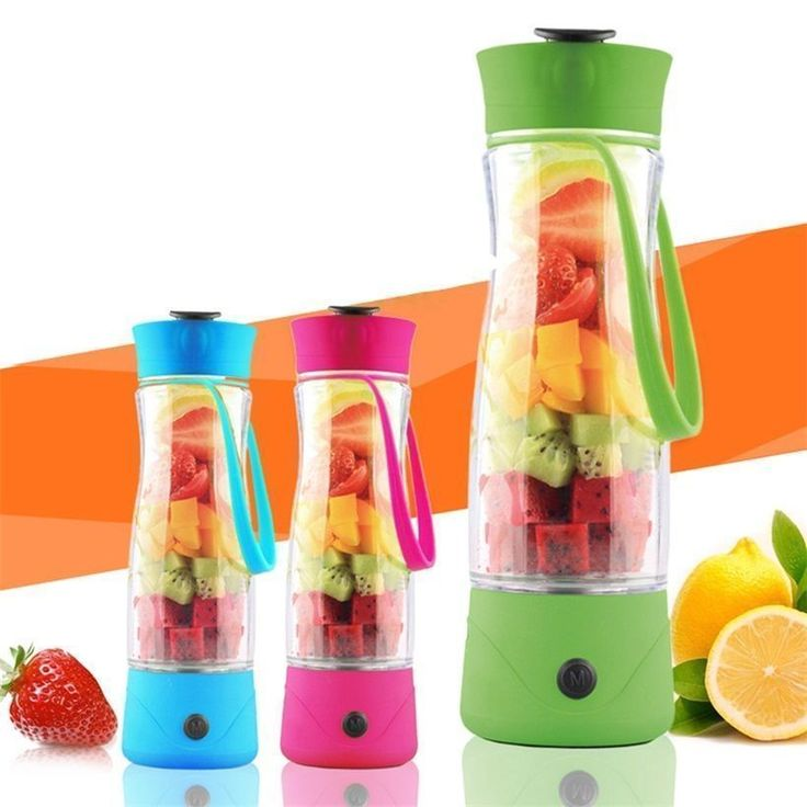 Mini Personal Charge Pattern Juicer Smoothie Blender Fruit Vegetable Juicer Ds