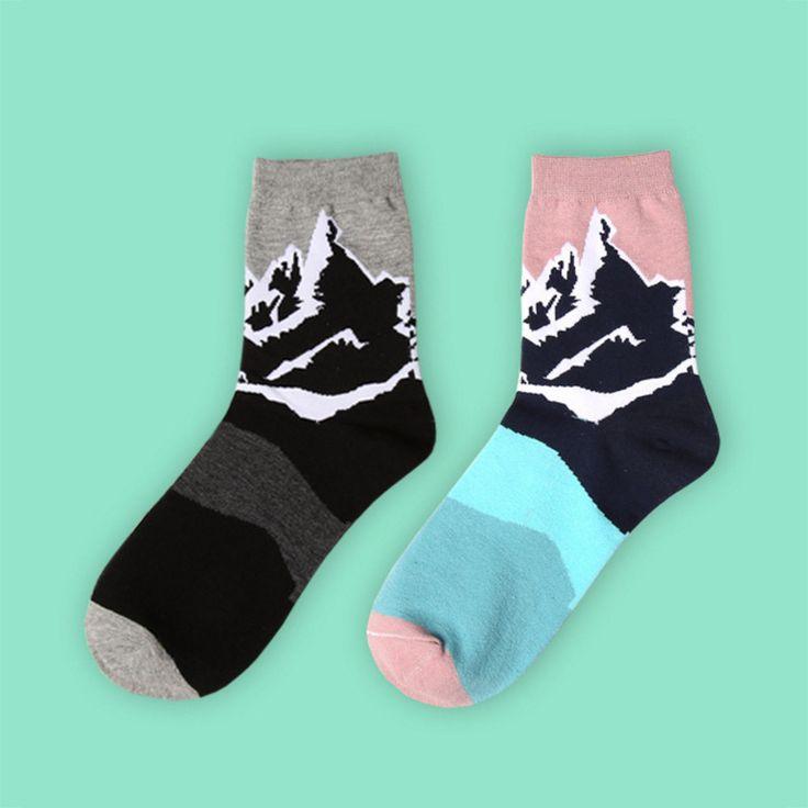 Rocky Mountain Sock Set [2 Socks] - Sock Season by BKBT   - 1