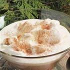 Mocha Punch with Ice Cream Recipe. it would taste a lot better w/ real whipped cream instead fo faux dairy product.