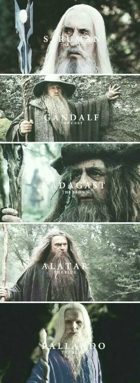 wizards of mittleearth  the hobbit lord of the rings gandalph j.rr.tolkien