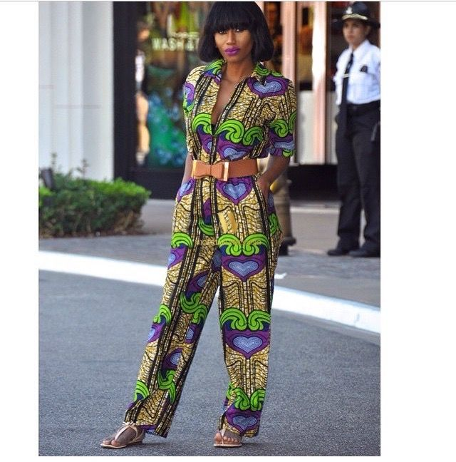 a14c669ccc7 Latest Ankara Fashion  100+ Super Stylish   Glam Ankara Jumpsuits Styles  For The Perfect Wedding Guest