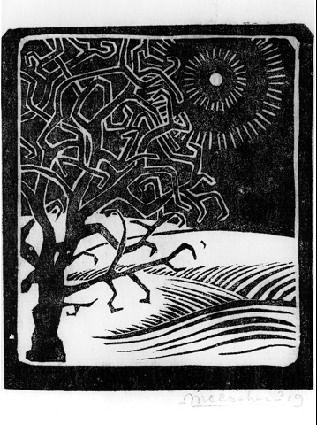 The Borger Oak by M.C. Escher 1919