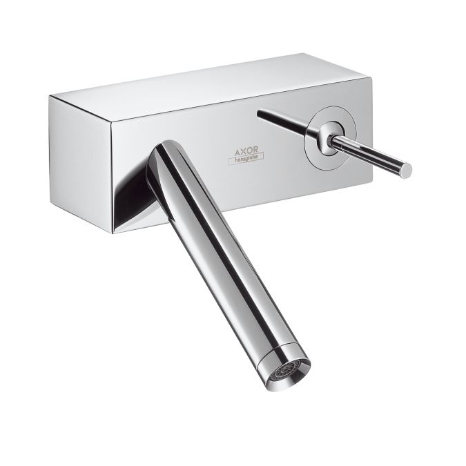 Elegant Buy The Hansgrohe 10074001 Chrome Direct. Shop For The Hansgrohe 10074001  Chrome Axor Starck X Bathroom Faucet Wall Mount Faucet With Lever Handle    Less ... Great Pictures