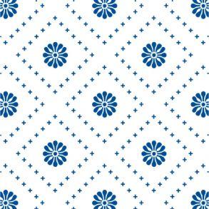 Small Flowers - Blue - Transparent. Price 6,5 € Små Blomster - Blå - Gennemsigtig folie Pris 45 dkk.