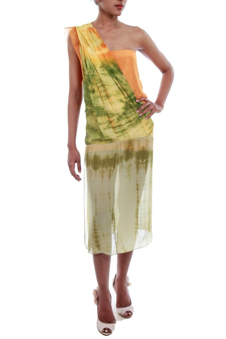 Chiffon Dress by Babita Malkani