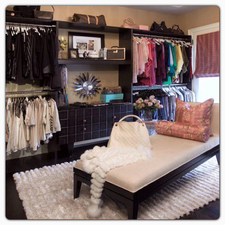 Closet room-every girl should have one...