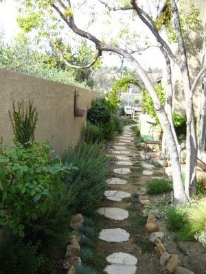 Dilemma In Landscaping: Narrow Side Yards |