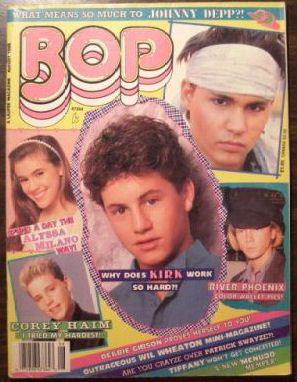 80s Bop Magazine....I loved these magazines...my room was covered with posters that came from them.