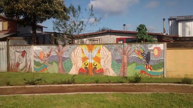 Muros VALDIVIA sector Corvi