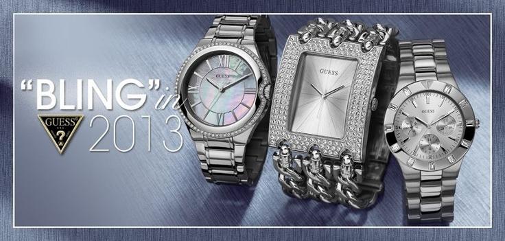 Εντυπωσιακά ρολόγια-κόσμημα από τη GUESS!  http://www.oroloi.gr/index.php?cPath=485