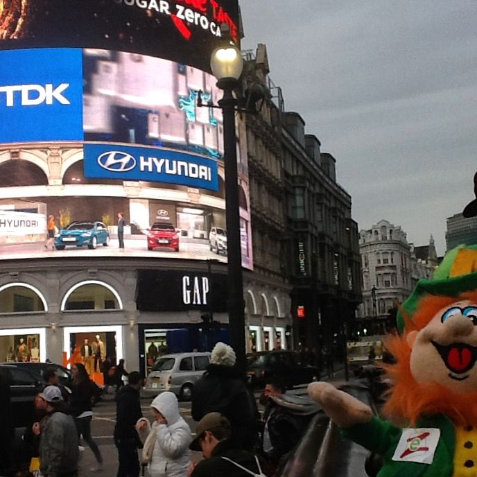 Conor loves the crazy nightlife of this huge city!  #wheresConor