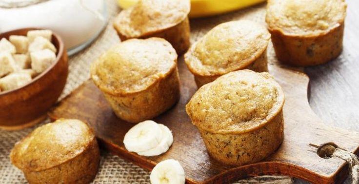 Bananes, yogourt grec et avoine : Un muffin facile et rapide - Recettes - Ma Fourchette