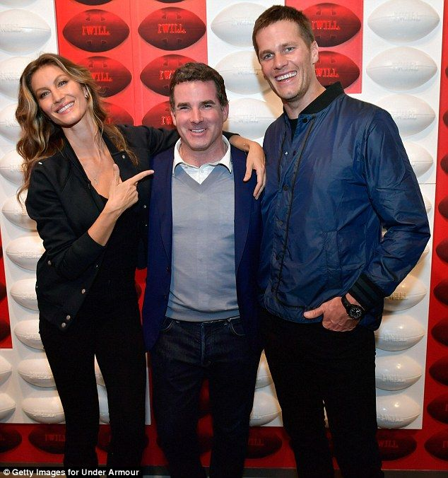 Having a blast! Gisele Bundchen and her husband Tom Brady enjoyed a night out on the town ...