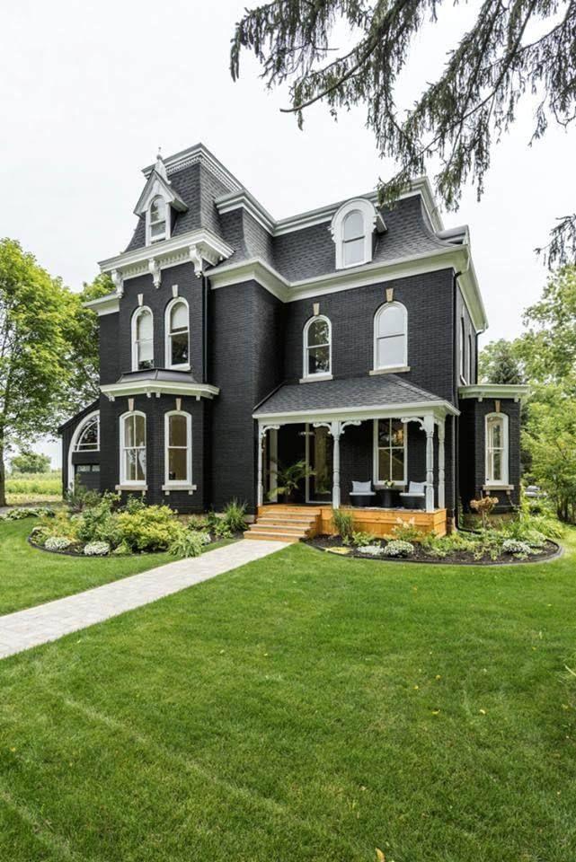 1875 Second Empire In Pelham Ontario Canada Captivating Houses House Designs Exterior House Exterior Victorian Homes