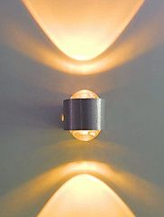 LED+/+Bulb+Included+Flush+Mount+wall+Lights,Modern/Contemporary+LED+Integrated+Metal+–+USD+$+99.98
