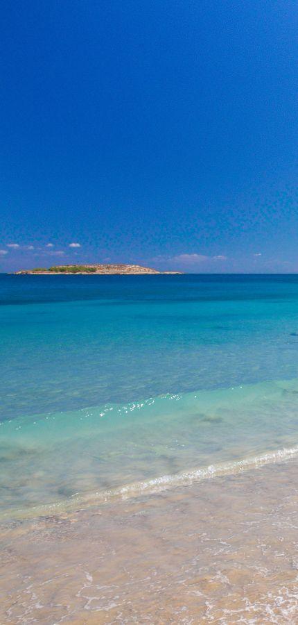 Summer pictures through winter - Loutraki beach in Chania, Crete