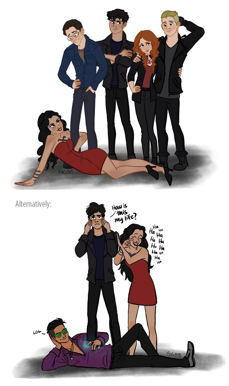 Lol Shadowhunters by ggns on @DeviantArt