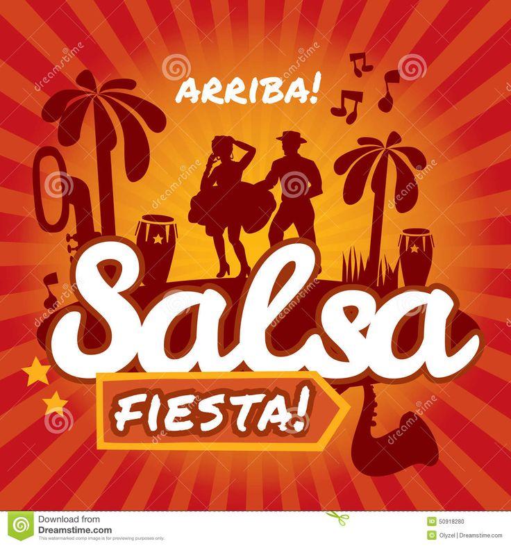 Mejores 95 imágenes de fiesta salsa en Pinterest | Fiesta retro ...