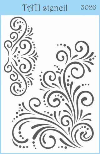Трафарет объёмный TATI stencil 3026