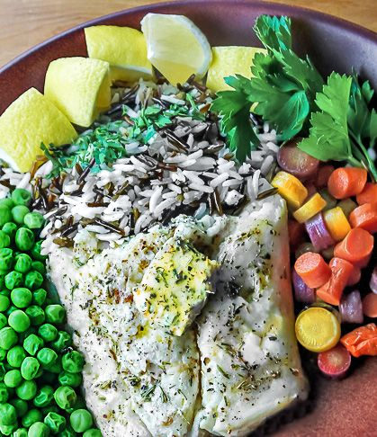 Simple Grilled Halibut with Herb Butter | Recipe | Simple, Grilled ...