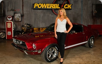 Mystical Build Mustang Featured on PowerBlock TV with Courtney Hansen...