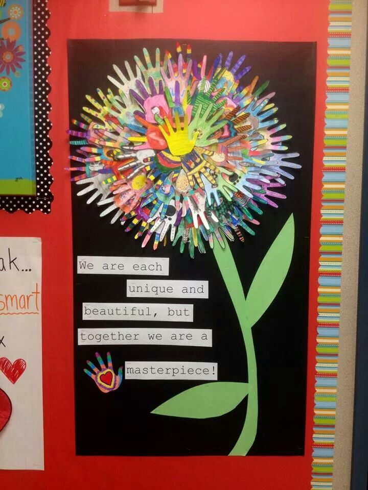 Good class display for start of year - Gr.6 girls Group