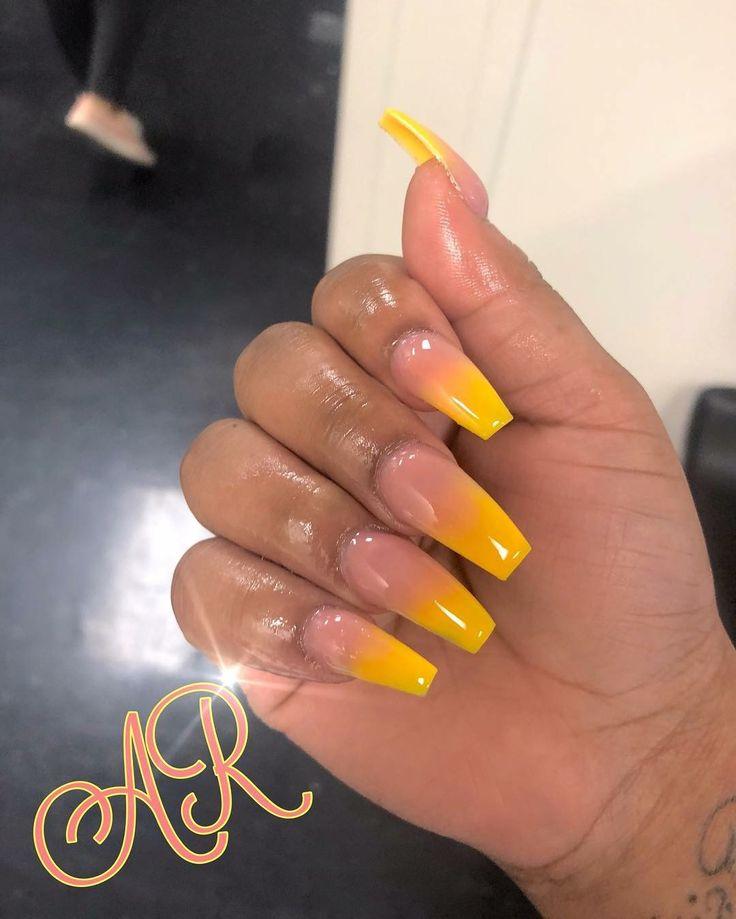 fade nails ideas